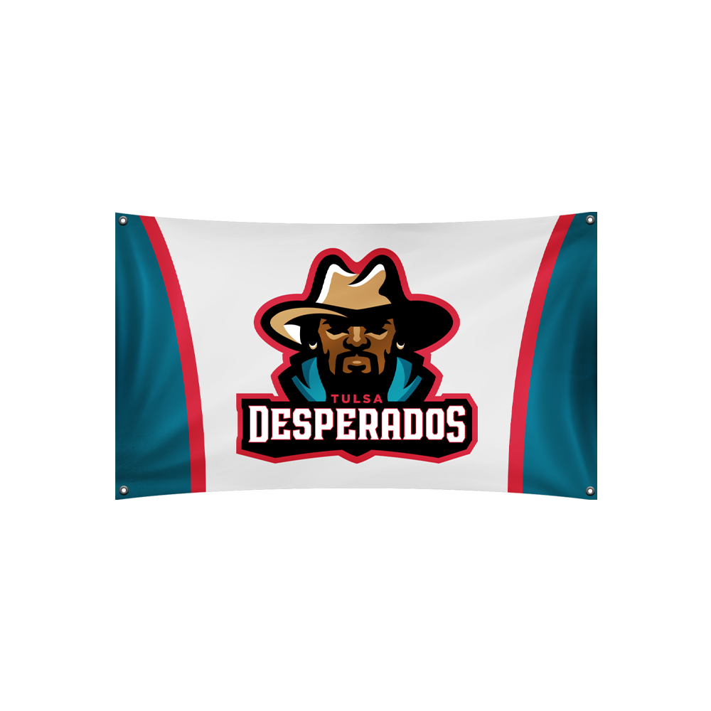 Tulsa Desperados Flag
