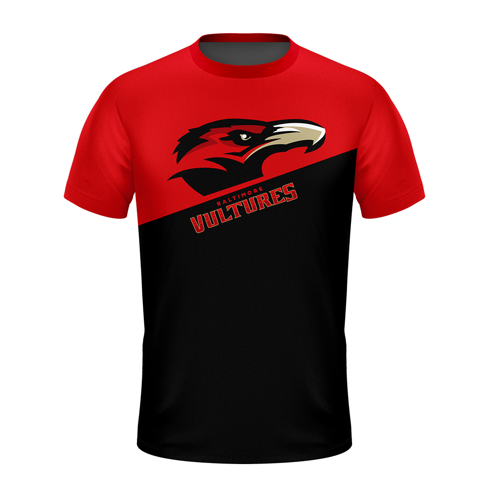 Baltimore Vultures Red Performance Shirt