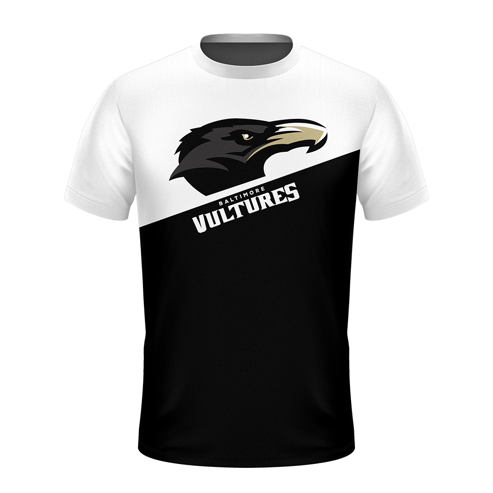 Baltimore Vultures White Performance Shirt