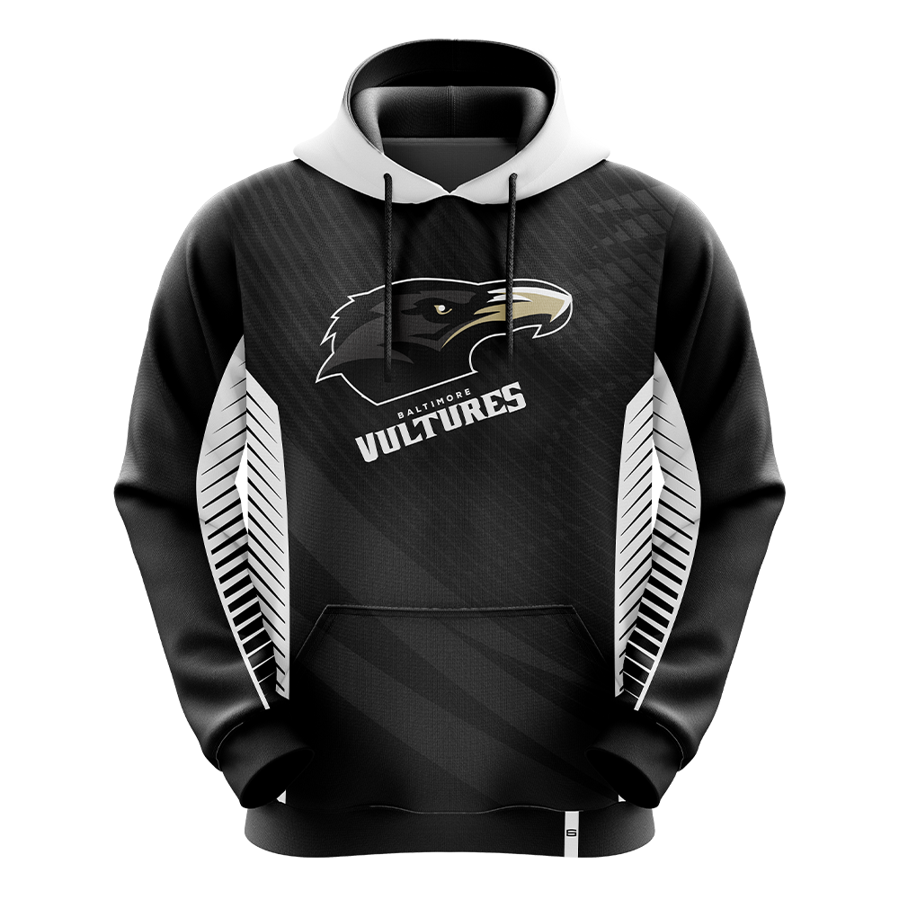 Baltimore Vultures White Pro Hoodie