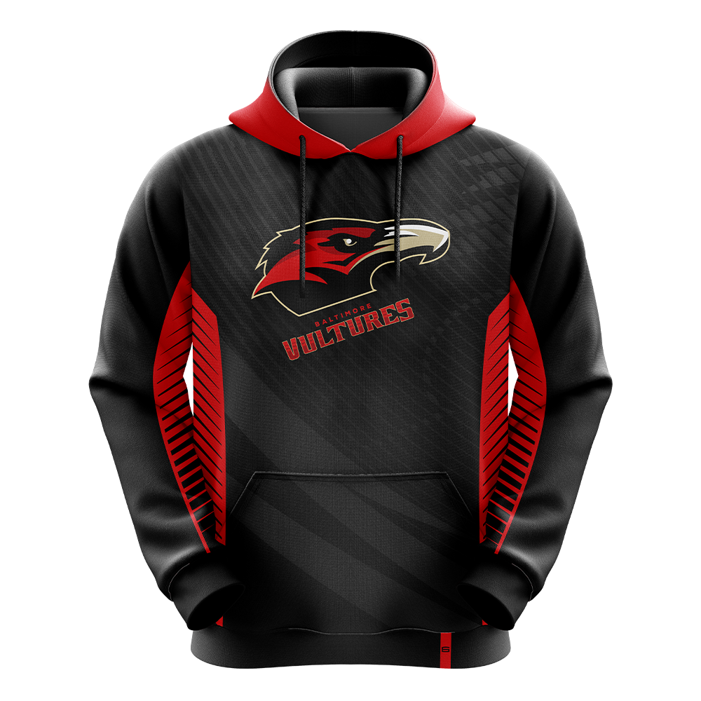 Baltimore Vultures Red Pro Hoodie