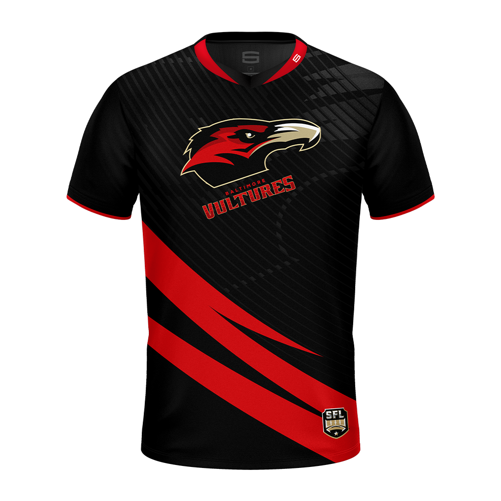 Baltimore Vultures Red Pro Jersey