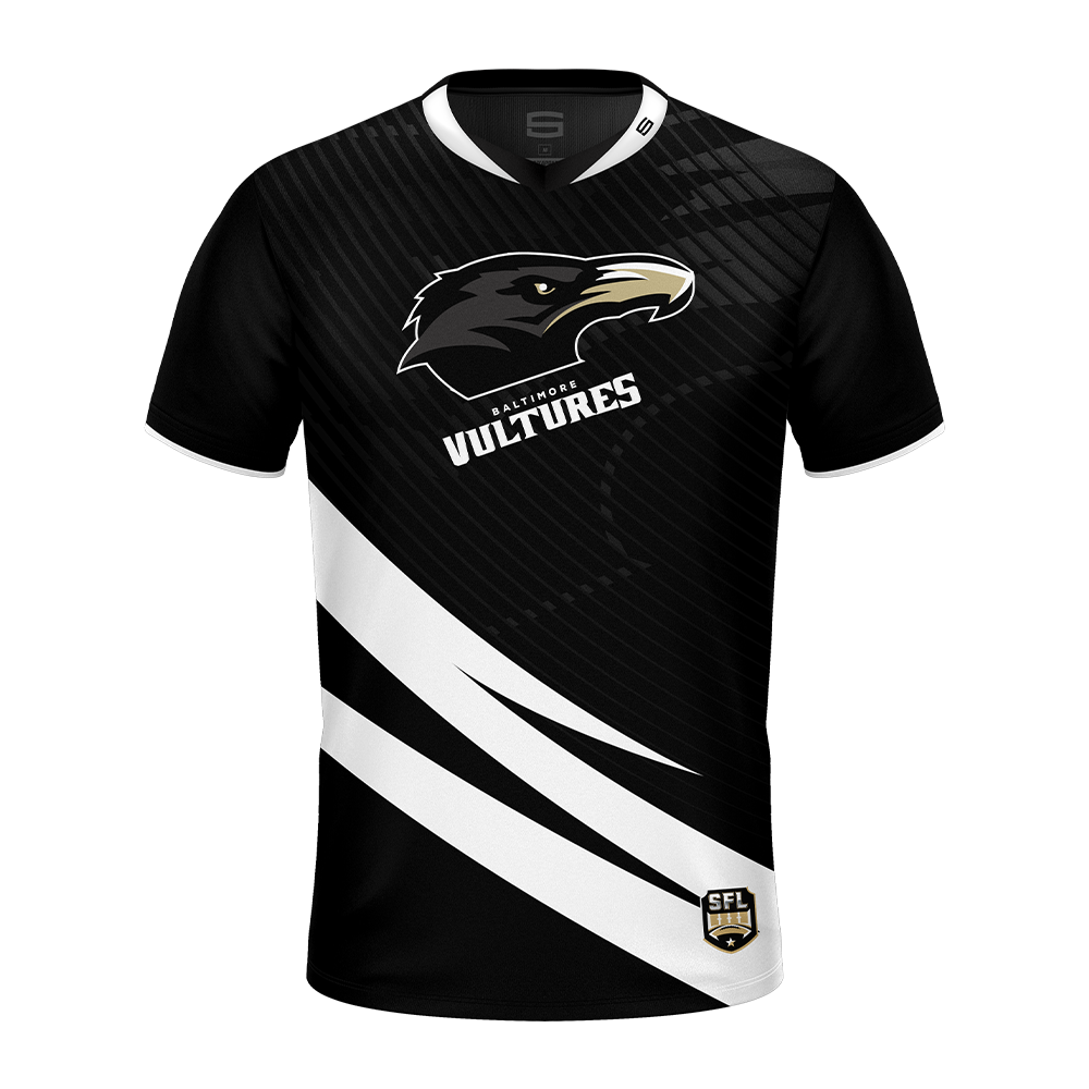 Baltimore Vultures White Pro Jersey