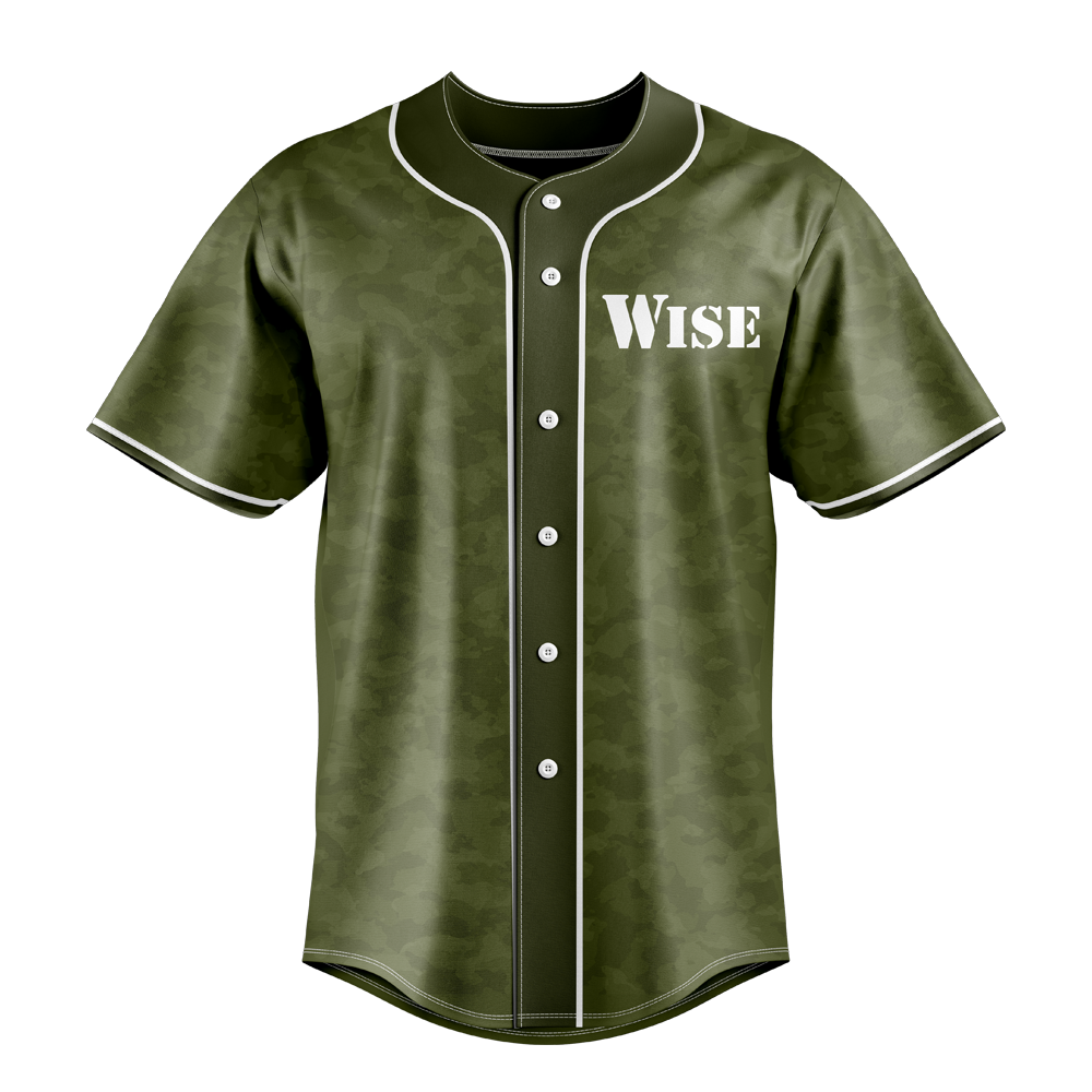 WISE Gaming Baseball Jersey