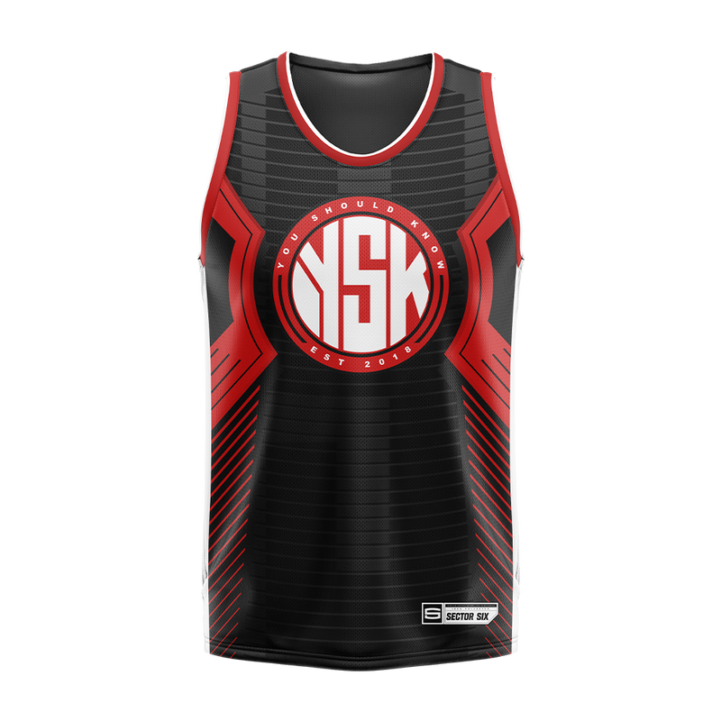 YSK Basketball Jersey