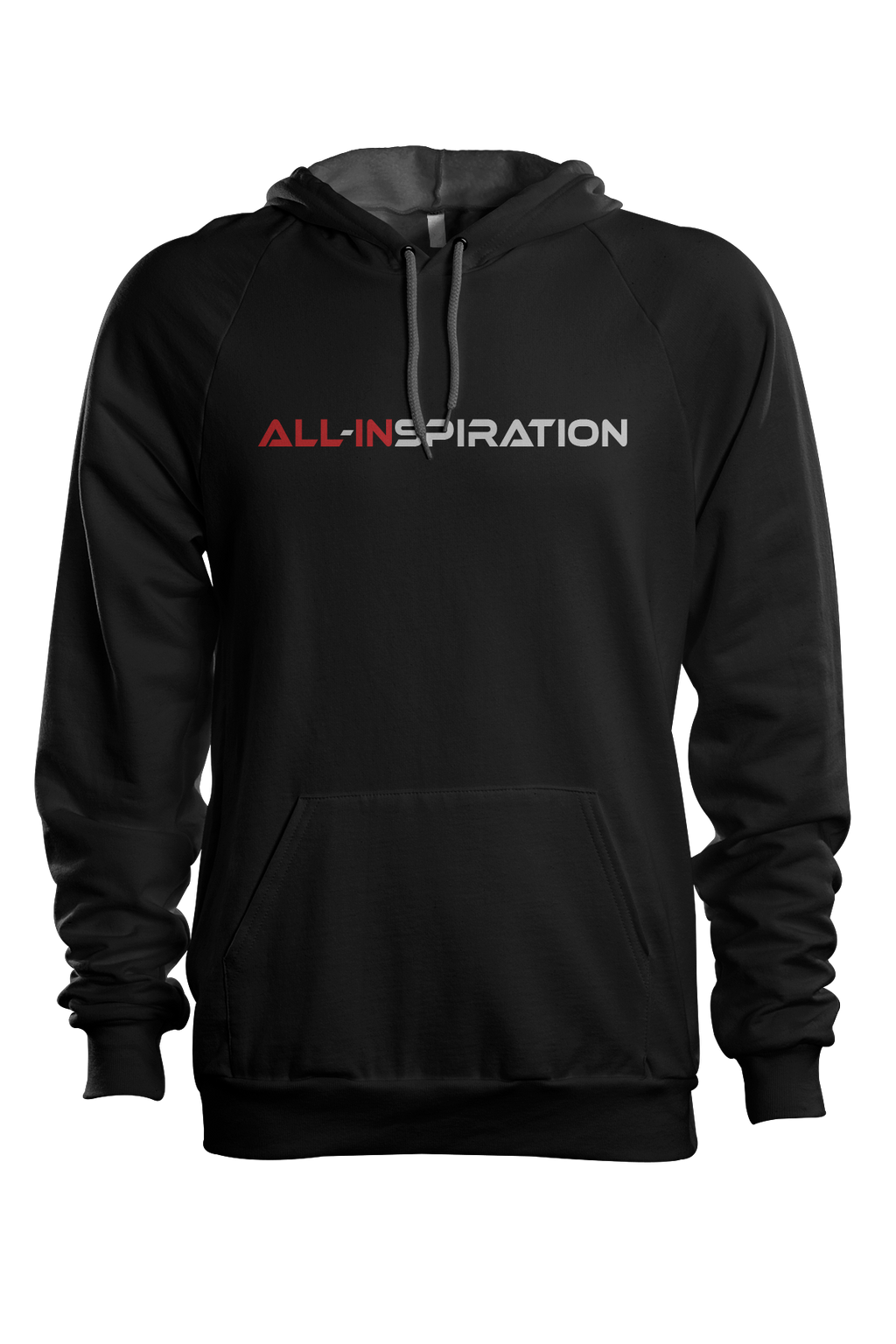All-Inspiration Text Hoodie