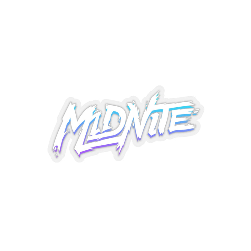 MiDNiTE Full Color Transparent Sticker