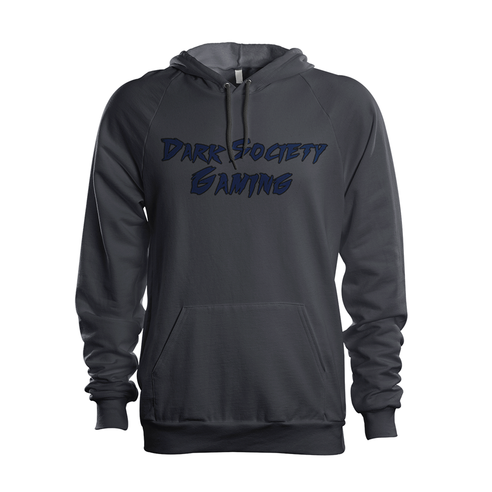 Dark Society Gaming Text Hoodie.