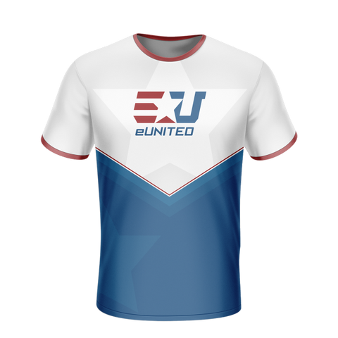 eUnited White Jersey