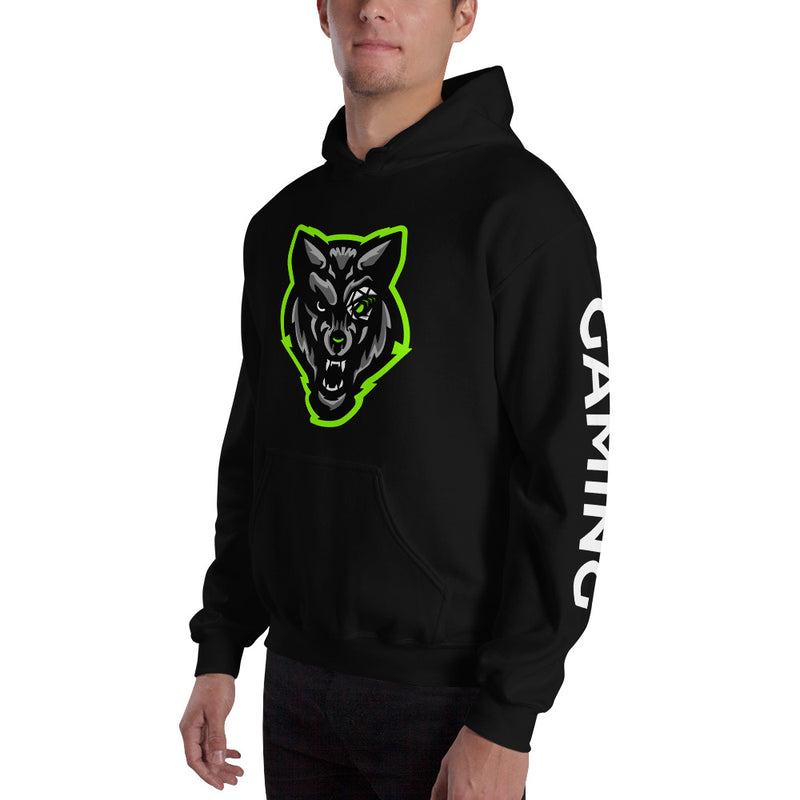 Hybrid Gaming Hoodie - With Sleeve Text