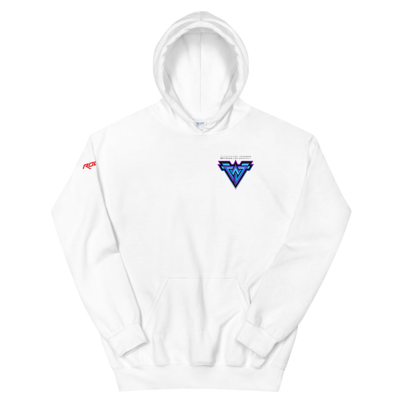 Witness The Journey Minimal Logo Hoodie