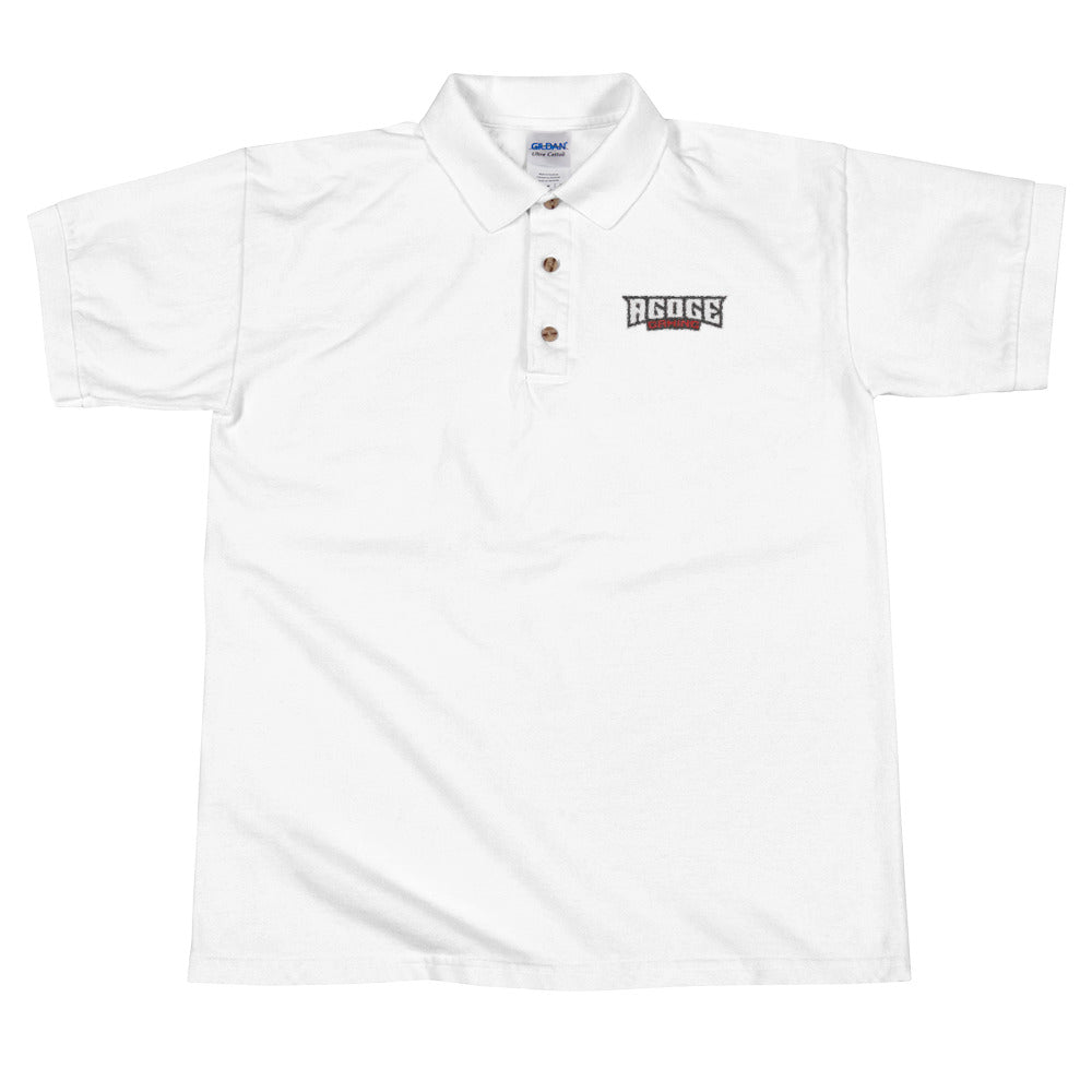 Agoge Gaming Text Logo Polo