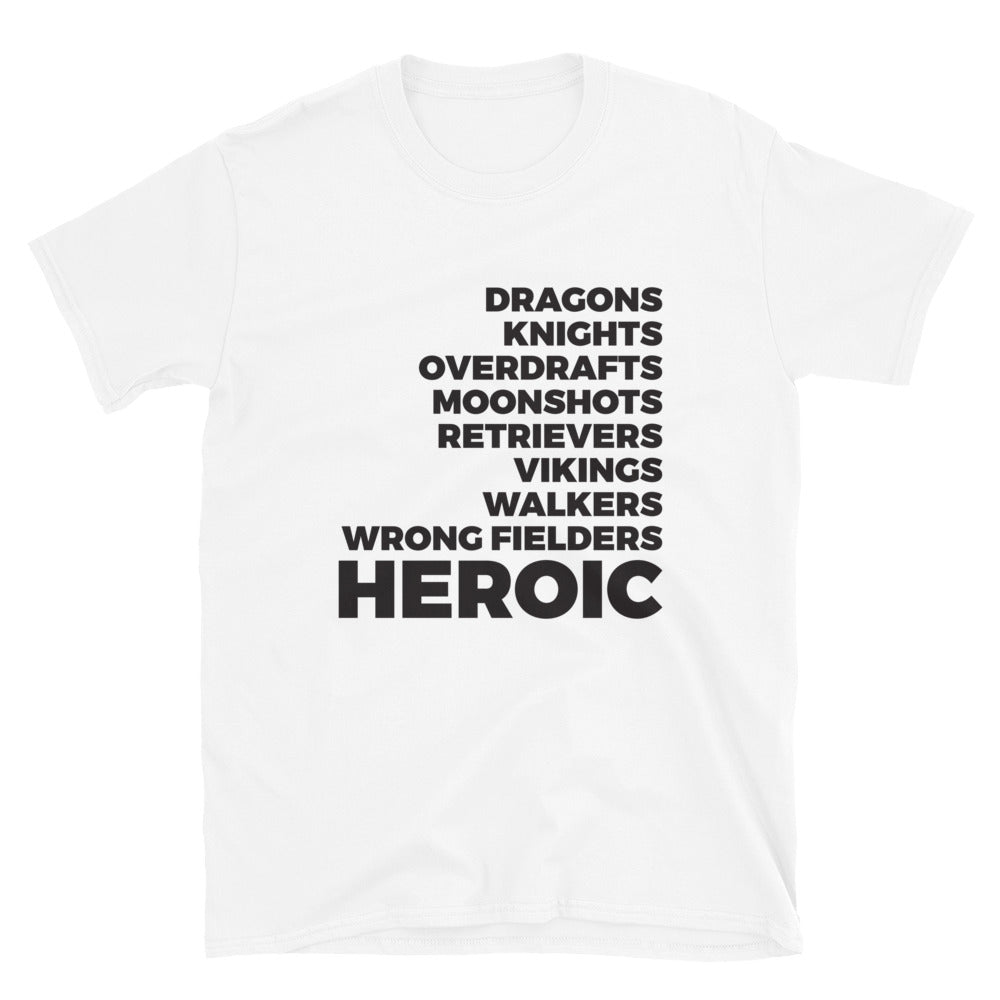 SSBL Conference List Shirt - Heroic