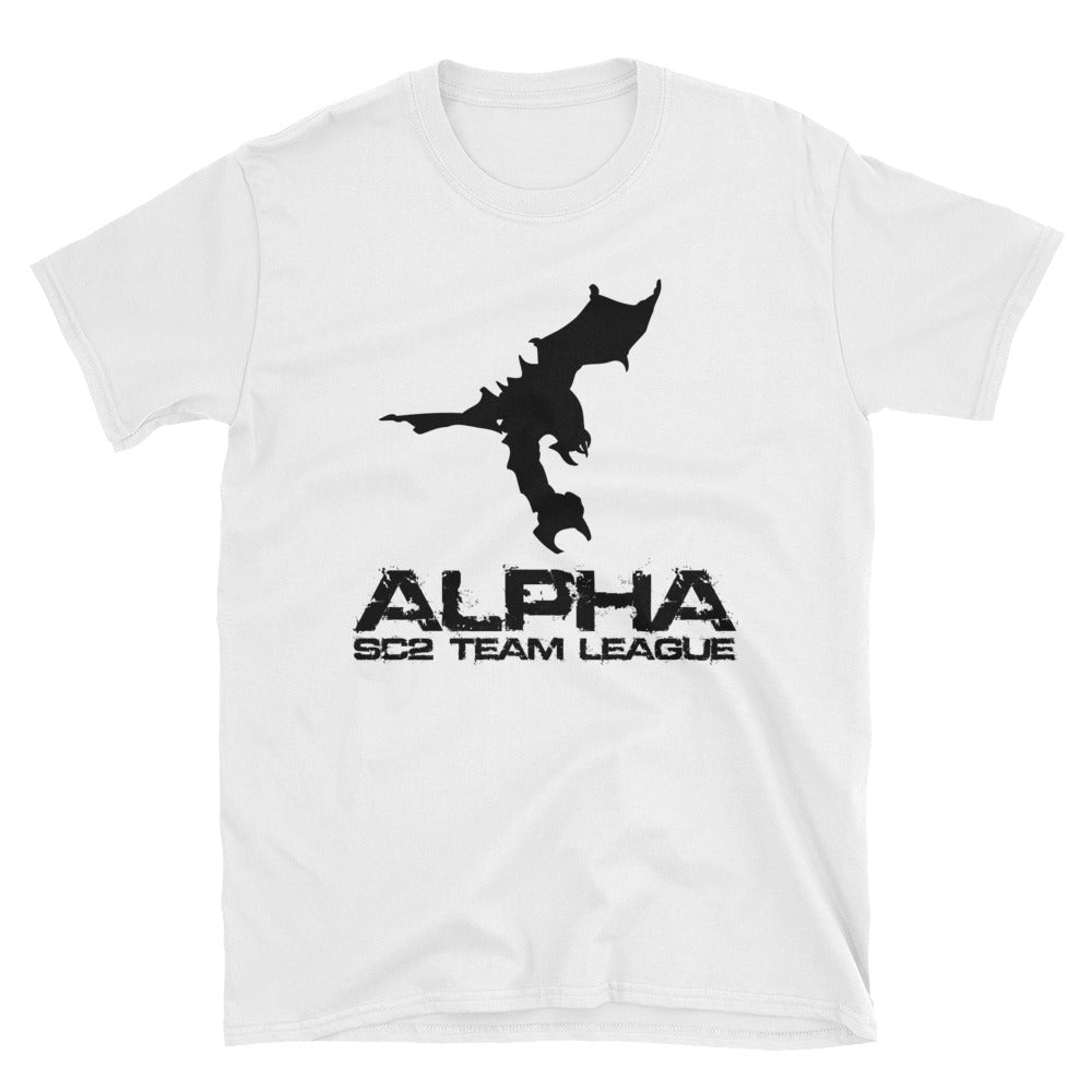 AlphaTL Stacked Logo Tee - White