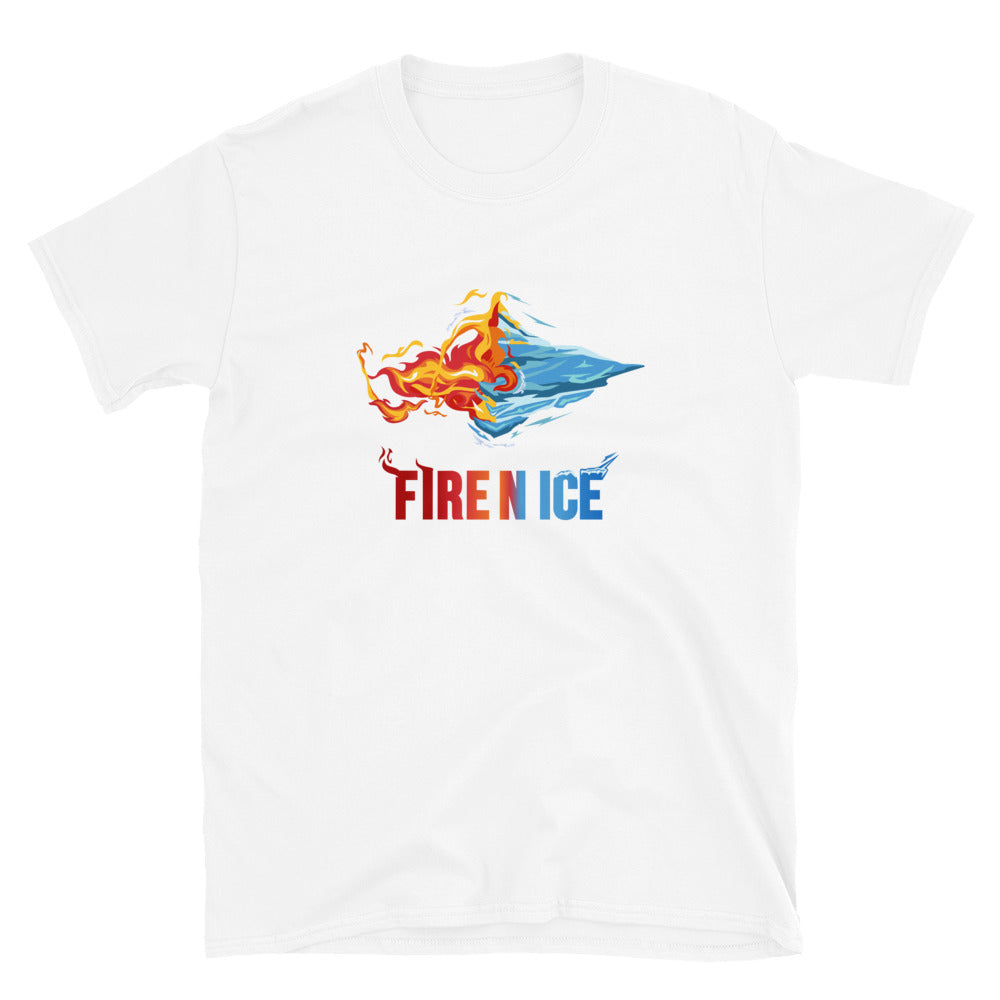 Fire N Ice Logo Shirt