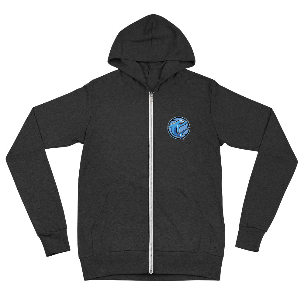 Adaptive Gamiing Triblend Zip Up