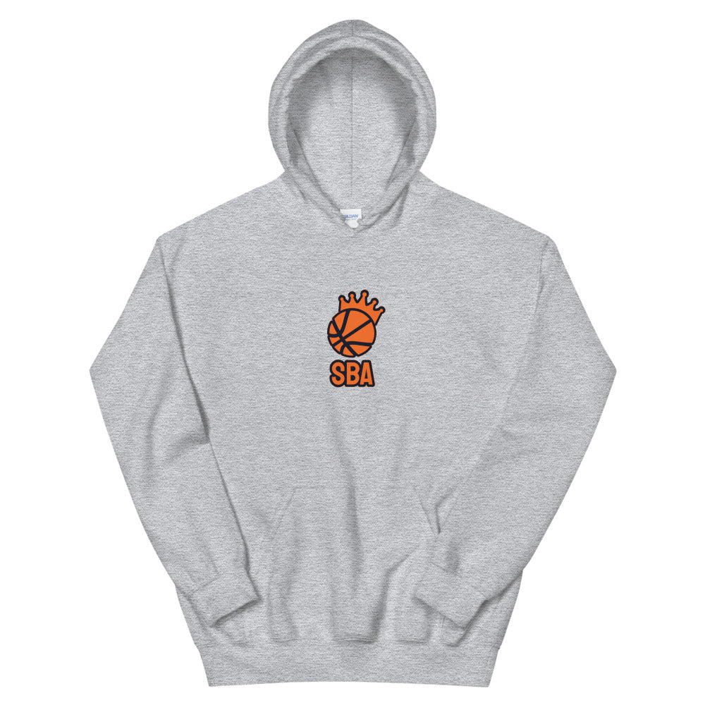 Simulation Basketball Association Logo Hoodie