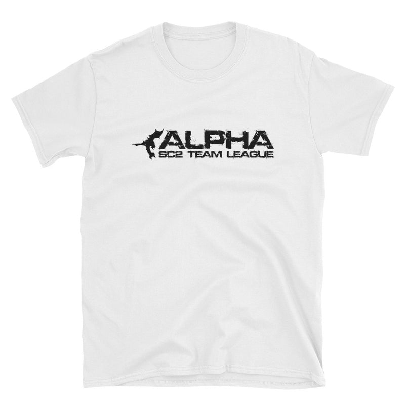 AlphaTL Long Logo Tee - White