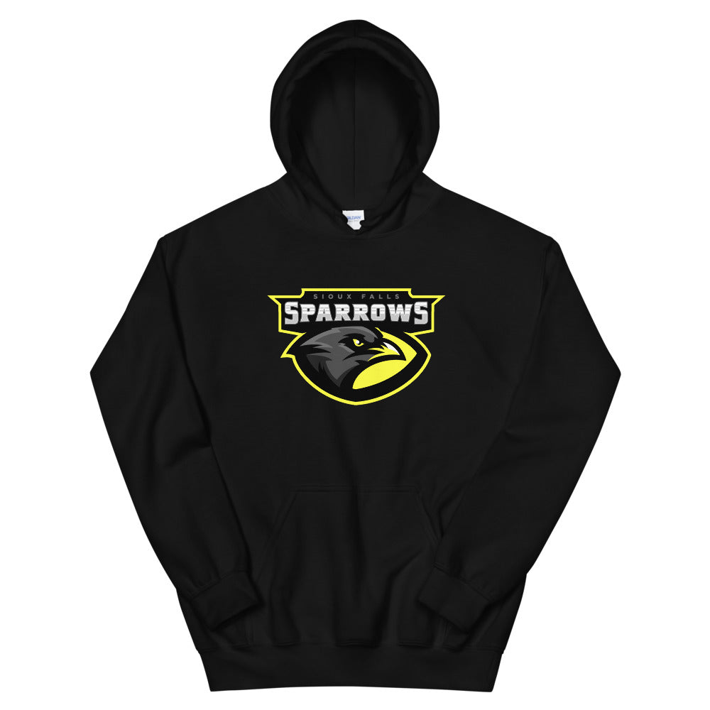 Sioux Falls Sparrows Logo Hoodie