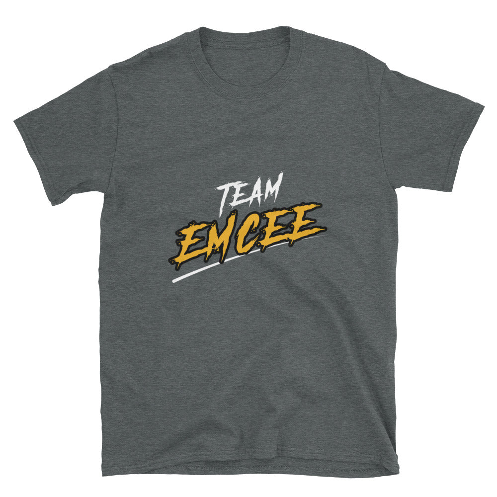Team Emcee Text Shirt