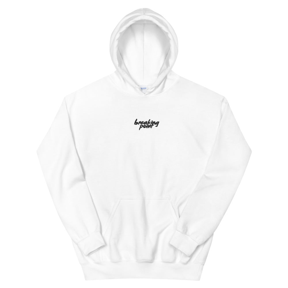BreakingPoint Embroidered Text Hoodie