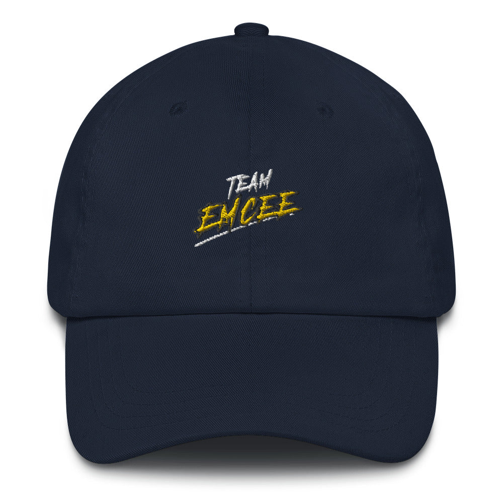 Team Emcee Dad Hat