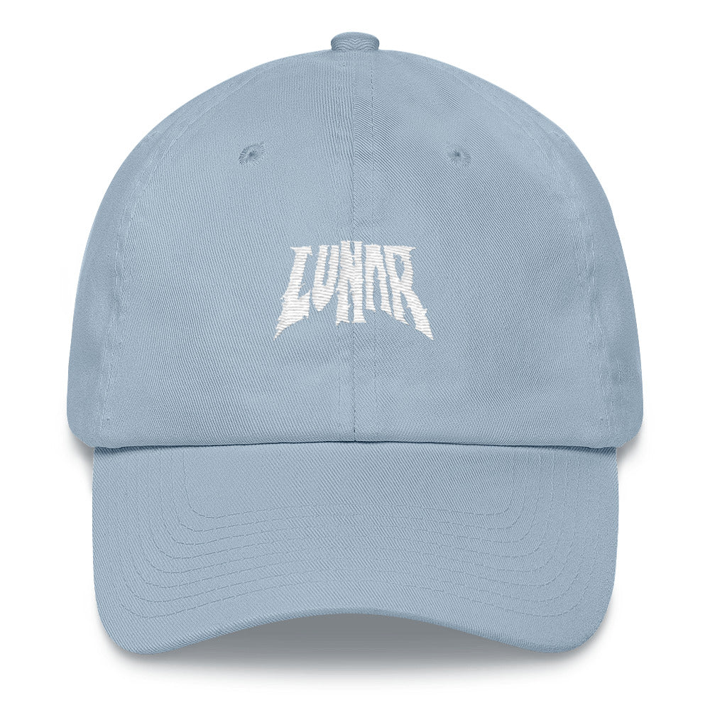 Lunar Dad Hat - Pink/Blue
