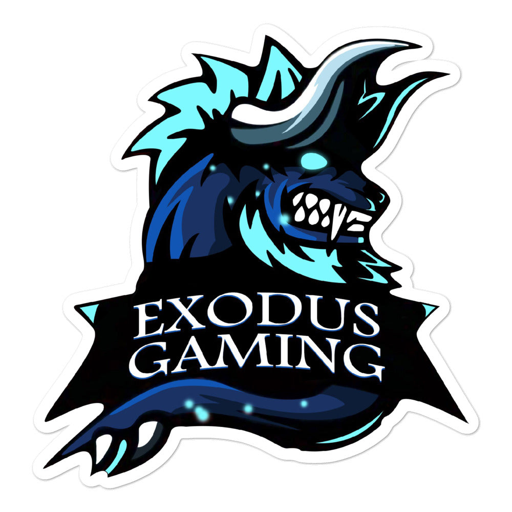 Exodus Gaming Logo Sticker