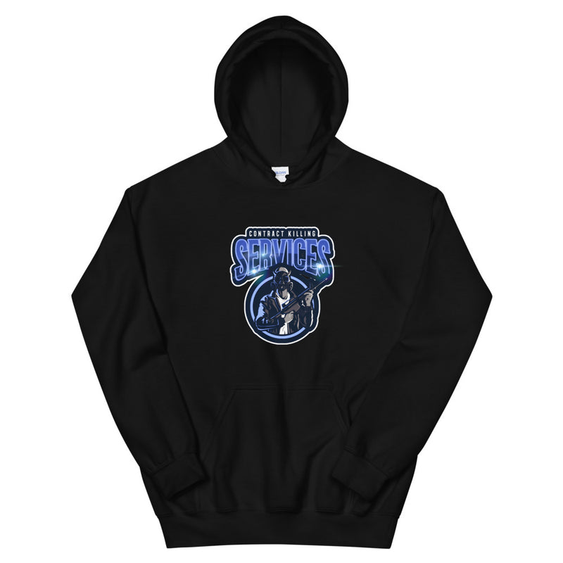 Contract Killing Services Logo Hoodie