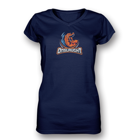 Onslaught Ladies V-Neck