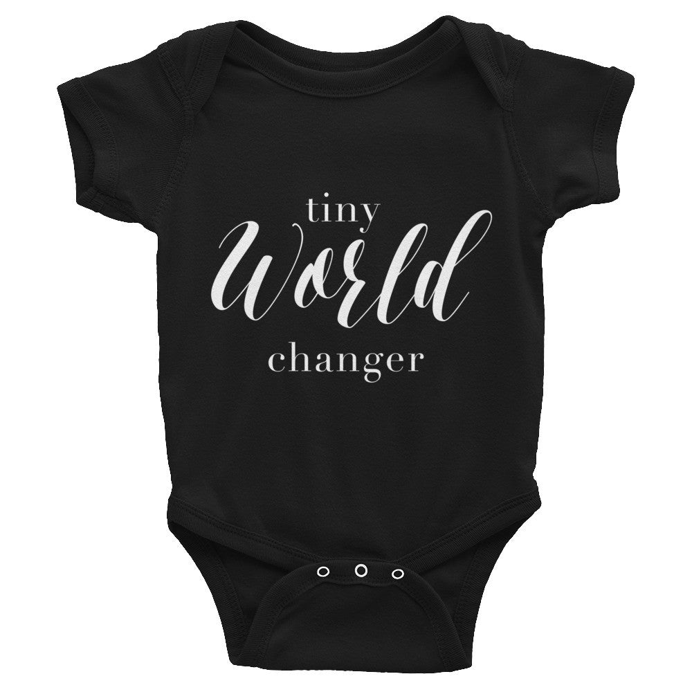 Tiny World-Changer Onesie