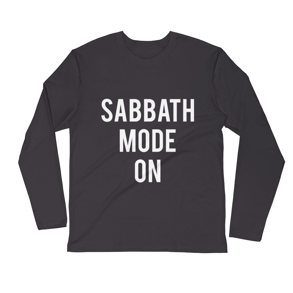 Sabbath Mode Fitted Long Sleeve