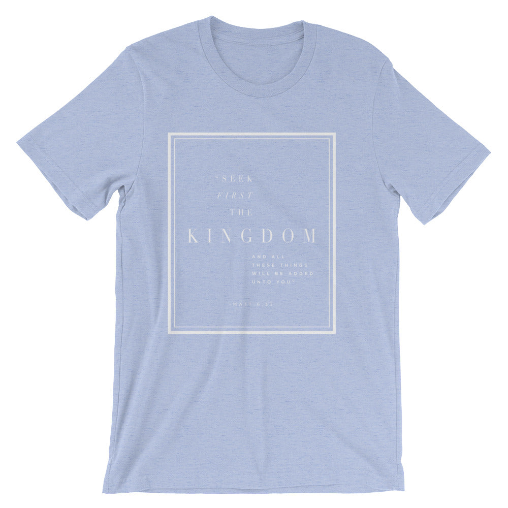 Seek First The Kingdom Short-Sleeve Unisex T-Shirt