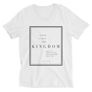 1st The Kingdom V-Neck
