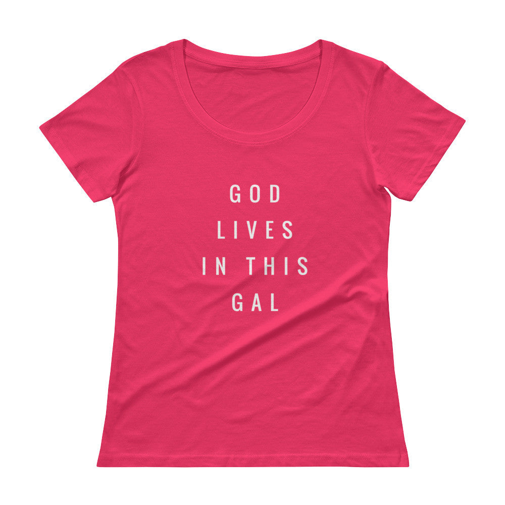 God Lives In This Gal Tee