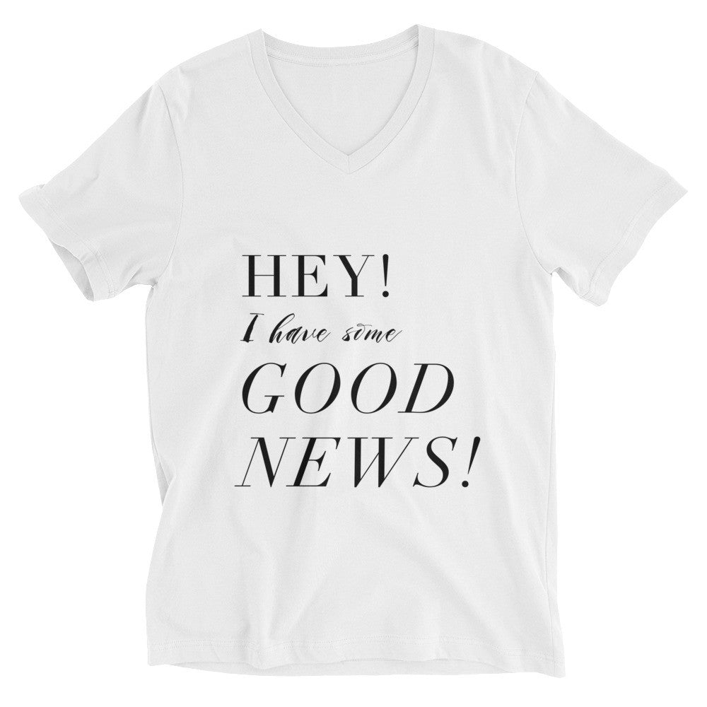Good News! V-Neck Tee