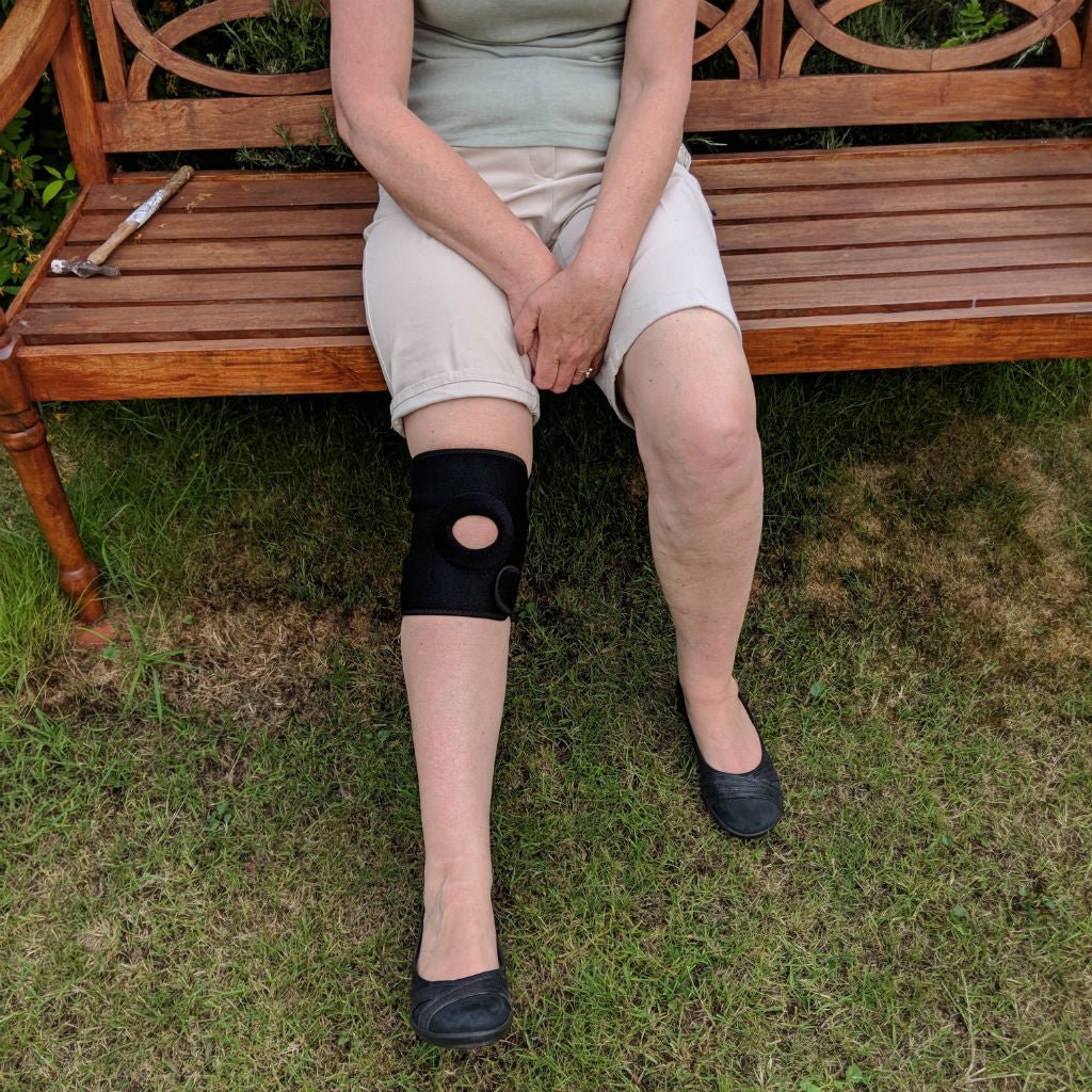 Review of Essential Wellness knee support for travel