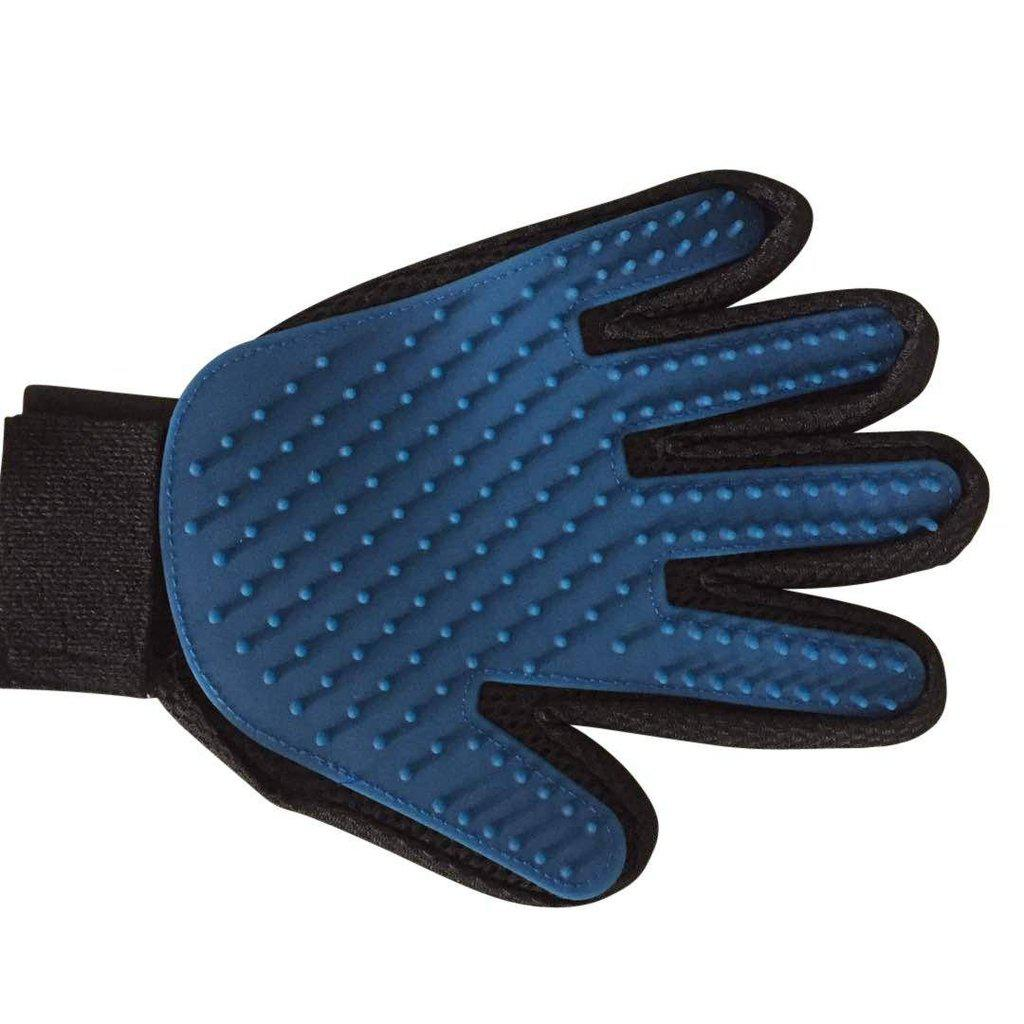 Pet Grooming Glove - stop hair getting all over-Grooming-Left-Essential Wellness-5060536630282