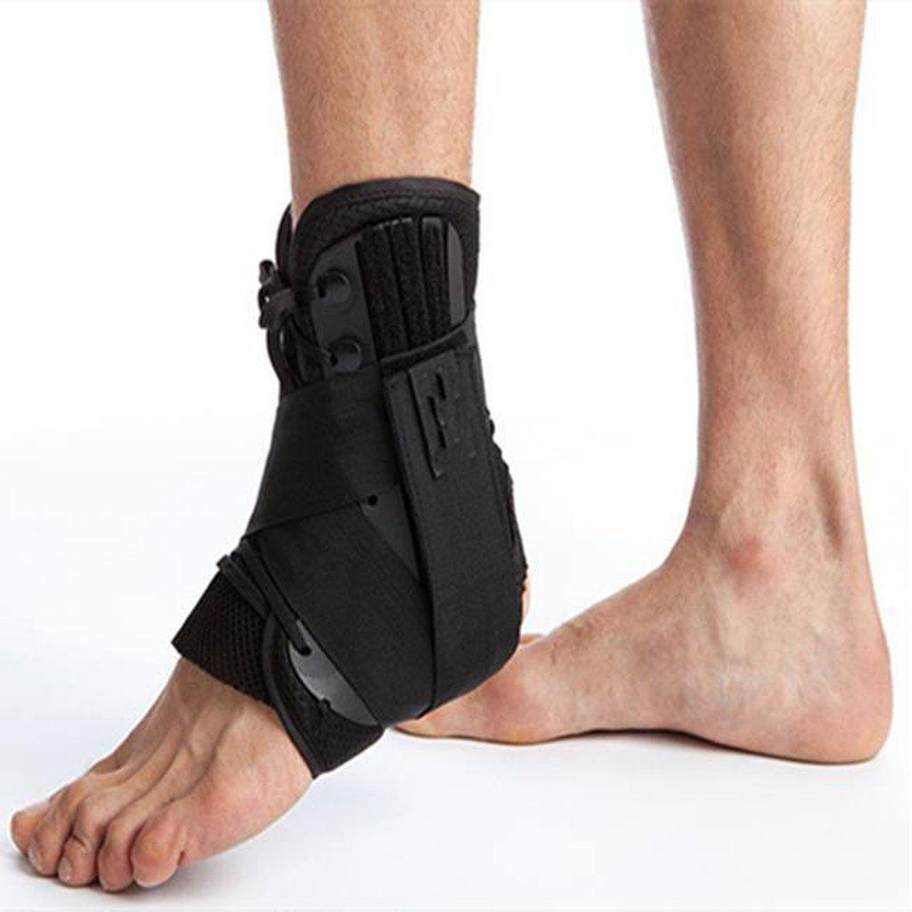 Ankle Brace For Severe Sprains, Lace Up - Ultra Sturdy & Supportive