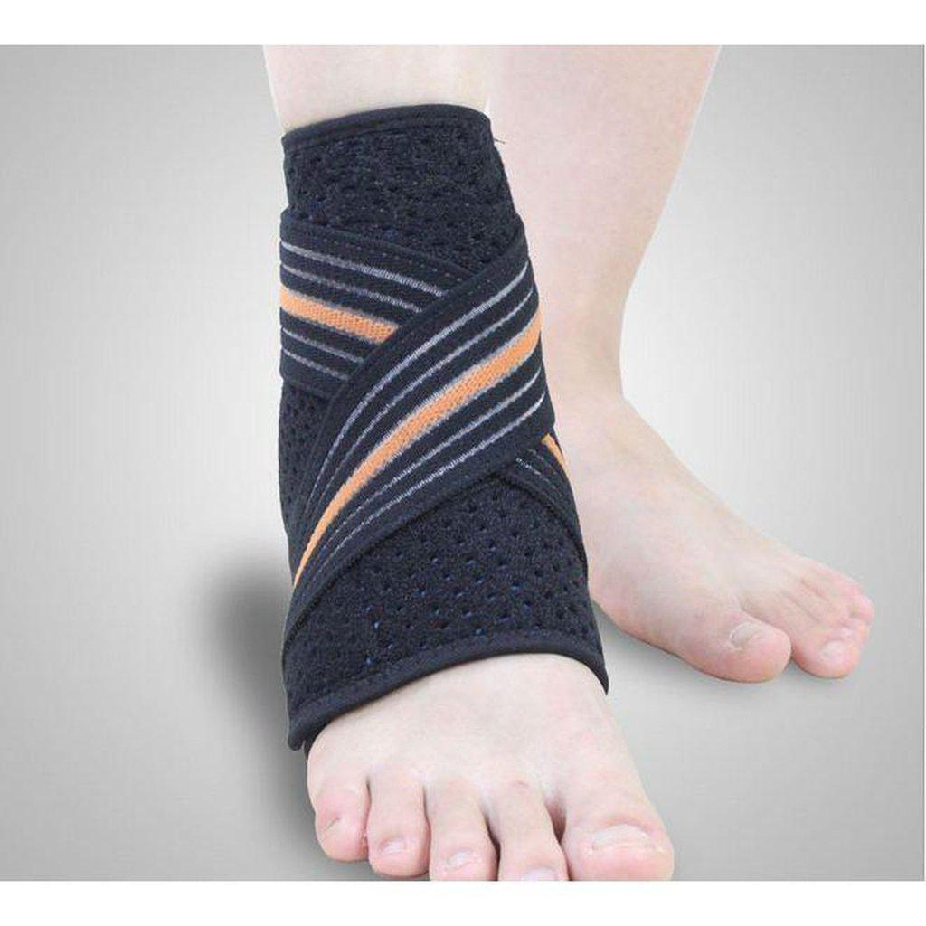 Ankle Support with Reinforcing Strap -  Stabilises & Supports