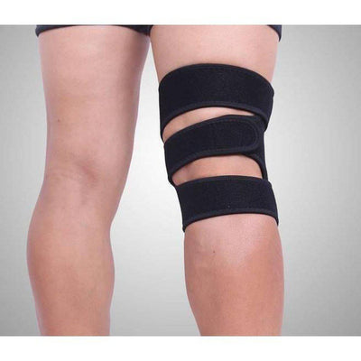 Extra Large Knee Support, Adjustable Fit - More comfort for larger knees-Orthotics, Braces & Sleeves-Essential Wellness