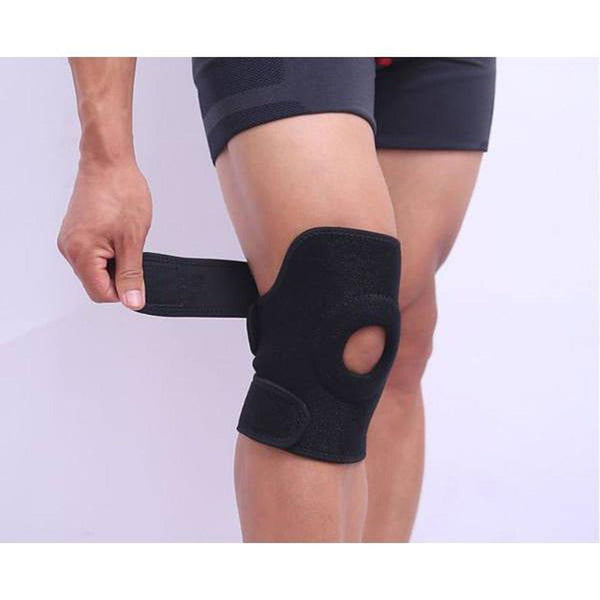 Knee Support, Adjustable Fit - Reduces knee pain & discomfort-Orthotics, Braces & Sleeves-Medium - M-Essential Wellness-5060536630046