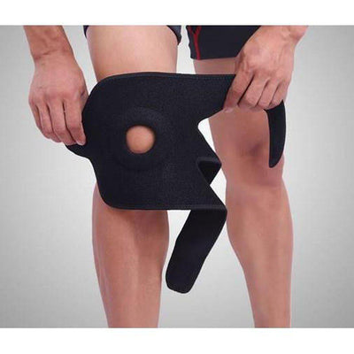 Knee Support, Adjustable Fit - Reduces knee pain & discomfort-Orthotics, Braces & Sleeves-Essential Wellness