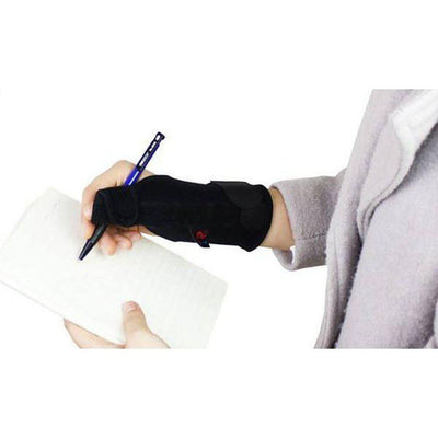 Thumb Supports with immobilising bar (Twin Pack, both hands) - Black, Unisex-Orthotics, Braces & Sleeves-Essential Wellness