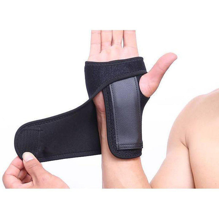 Wrist Support - With Reinforcing Bar. Perfect for Carpal Tunnel or Sprained Wrist-Orthotics, Braces & Sleeves-Essential Wellness