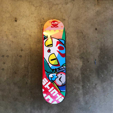 SHINYA JIRO AND MAKI SKATEBOARD DECK