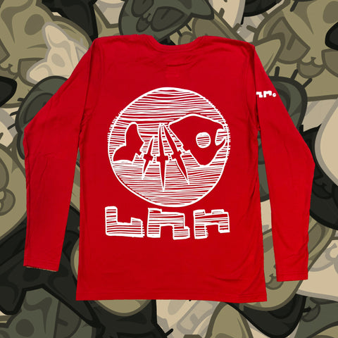 shinya-anime-clothing-long-sleeve-tee-shirt-fish-bones-skeleton-late-night-collection-red
