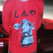 shinya jiro flcl vespa long sleeve