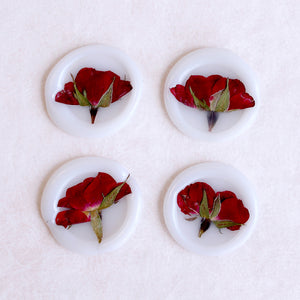A Rose is Still a Rose (Vellum White) - Wax Seal Stickers