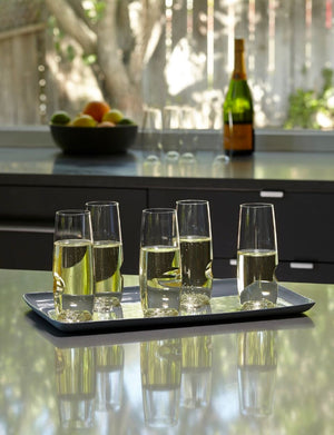 best champagne flutes for caterers and restaurants for outside use